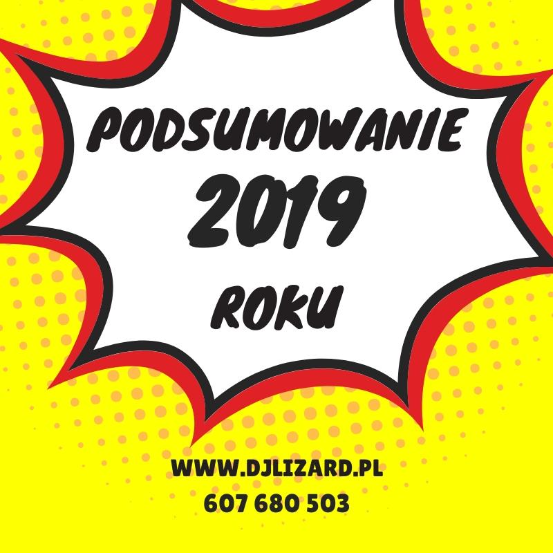 DJ na Wesele – Blog #1. Podsumowanie 2019 roku cz.1.